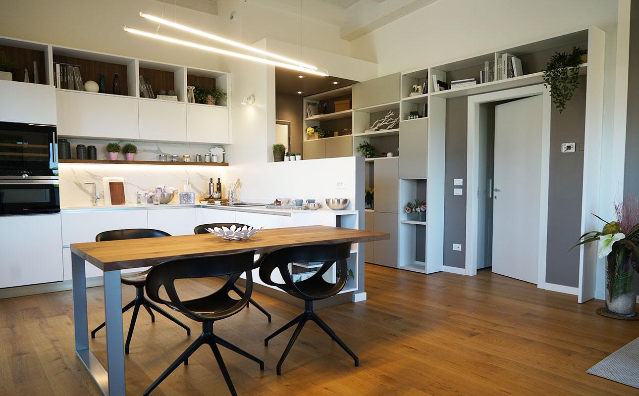 Spazio Casa Azzano X le terrazze su città alta: splendidi appartamenti - ferretticasa